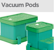 vacuum-pods for CNC timber milling machines
